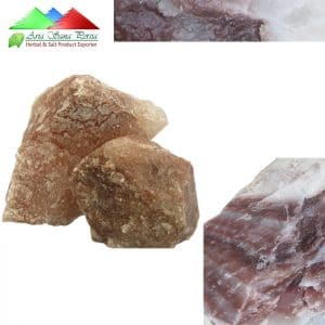 Natural Dark Pink Rock Salt