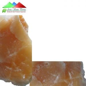 Natural Orange Rock Salt